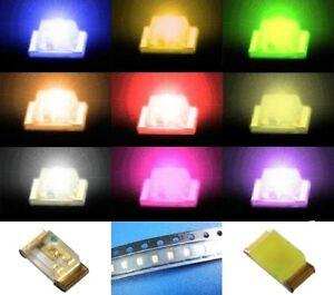 S586-SURTIDO-90-PCS-SMD-LEDS-0603-Rojo-Amarillo-Verde-Blanco-Azul-Naranja-Rosa