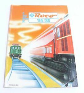 Catalogue Roco 0 H0 H0e N De 1984/85-afficher Le Titre D'origine