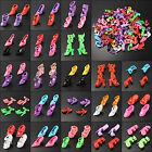 80pcs 40Pair High Heel Sandals Shoes For Barbie Doll Toy Princess Dress Clothes