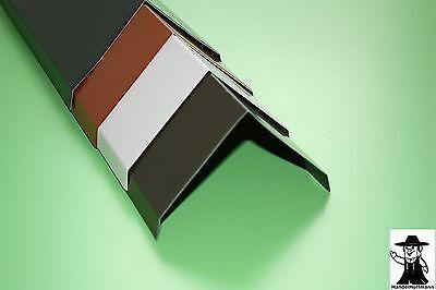 PräZise Firstblech Gratblech Dach Dachblech Alu Aluminium Farbig 1m Lang 0,8 Mm Stark Bequem Zu Kochen Regenrinnen & Zubehör