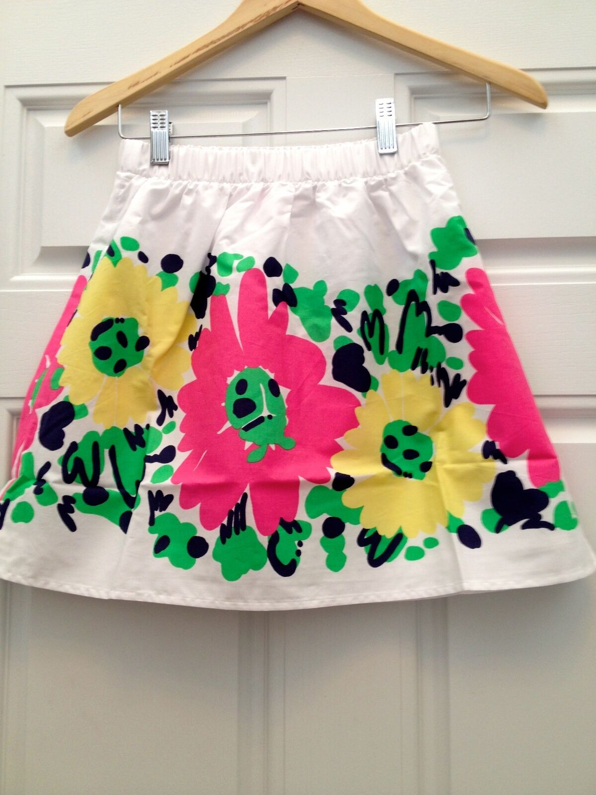 NEW Lilly Pulitzer Skirt  Doodle Bug Daisy Placed   XS 100% Authentic Retail  98