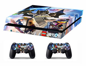 Ps4 Vinyl Skin Stickers Lego Dimentions Style For Console