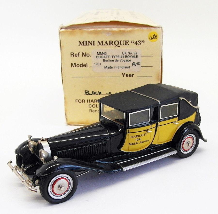 Minimarque 43 1 43 Scale UK9A - 1931 Bugatti Royal Type 41 - Harrah's