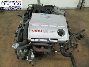 Details about 01 02 03 LEXUS ES300 TOYOTA WINDOM 3 0L V6 VVTI ENGINE JDM  1MZ FE VVTI
