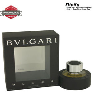 BVLGARI BLACK (Bulgari) Cologne 2.5 oz 1 oz EDT Spray for MEN by ... ee6c21d4a6