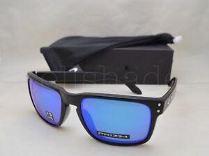 27d76fbf98 Oakley HOLBROOK (OO9102-F0 55) Matte Black with Prizm Sapphire ...