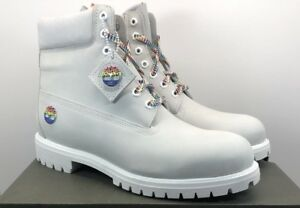Details about TIMBERLAND MENS LIMITED RELEASE RAINBOW WHITE 6