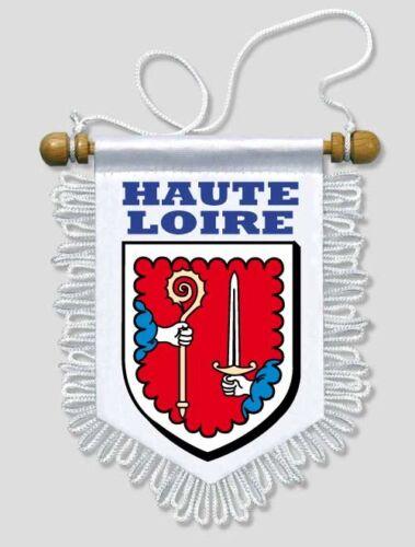 FANION VOITURE 13 X 15 CM HAUTE LOIRE 43