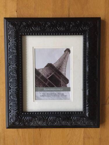 Matte Black NEW 8 x 10 Picture Frame