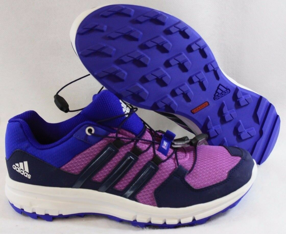 NEW Womens Sz 7 ADIDAS Duramo Cross Trail M29583 Purple Sneakers Shoes