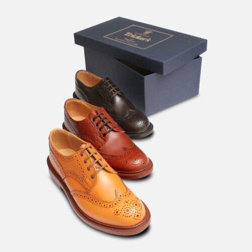 Trickers Anne Damen Braune Brogue Schuhe