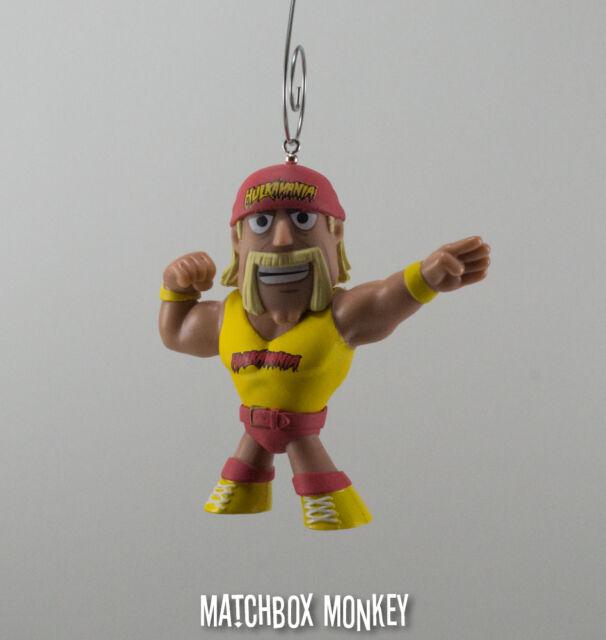 Hulk Hogan Hulkamania Custom Packaged Mini-Figure Pop Culture WWE WWF Wrestling