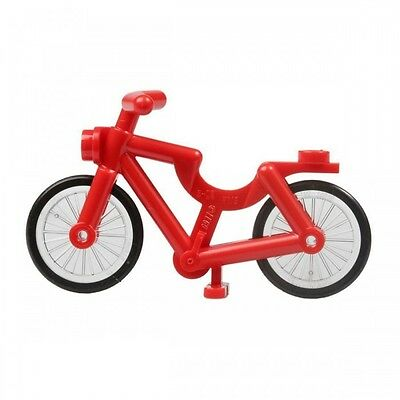 Sports Minifigure Not Included Lego White Bicycle X1 City