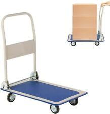 Lonabr 330660 Lbs Folding Platform Cart Dolly Push Hand Truck Moving Warehouse
