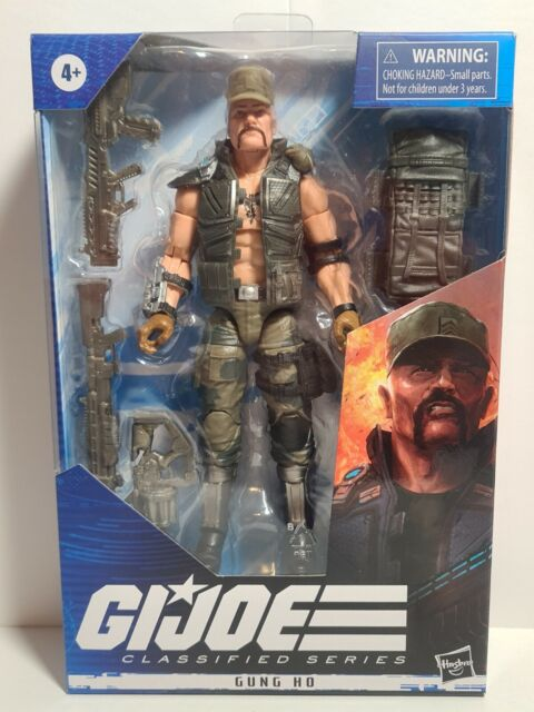 G.I. Joe Classified 6 Inch Action Figure Series 2 Gung Ho #07 NEW