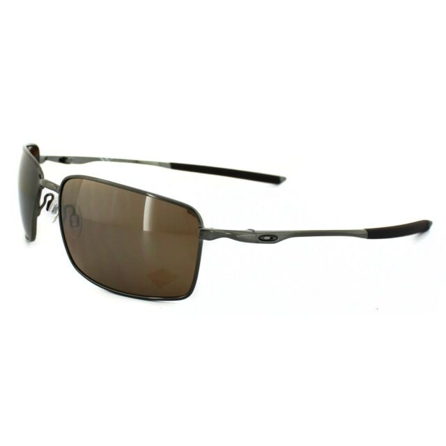 081c6e9884b Oakley Sunglasses Square Wire OO4075-06 Tungsten Tungsten Iridium Polarized