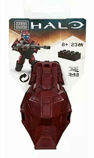 Mega Bloks Halo Series 4 ODST Metallic Drop Pod Set DPP68 Crimson