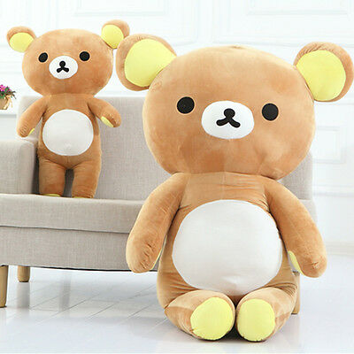 "13"" Stuffed San-x Rilakkuma Relax Bear 35cm Pillow Plush Toy Doll Girl Kid Gift"