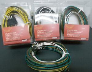 New Wesbar 707261 Wishbone Style Trailer Wiring Harness with 4-Flat  Connector   eBay   Wishbone Wire Harness      eBay