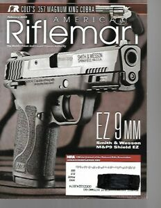 American Rifleman Magazine February 2020 Smith & Wesson M&P9 Shield EZ, Colet