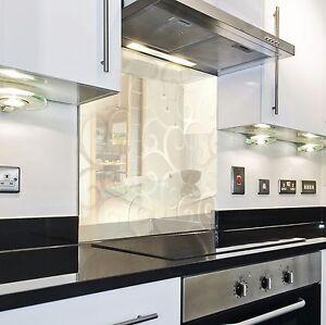 Splashback paraspruzzi paraschizzi cucina pannello oro astratto moderno ebay - Paraschizzi cucina ...