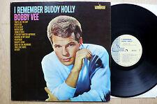LP Bobby Vee - I Remember Buddy Holly - US Liberty Promo + Photo 2x Autograph