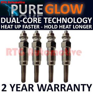 4X-Diesel-Calentador-De-Bujias-Para-AUDI-SKODA-SEAT-SKODA-VW-1-9-D-TD-Dual-Core