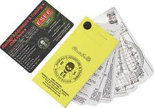 Esee Compass New Pocket Navigation Cards POCKET-NAV -CARDS