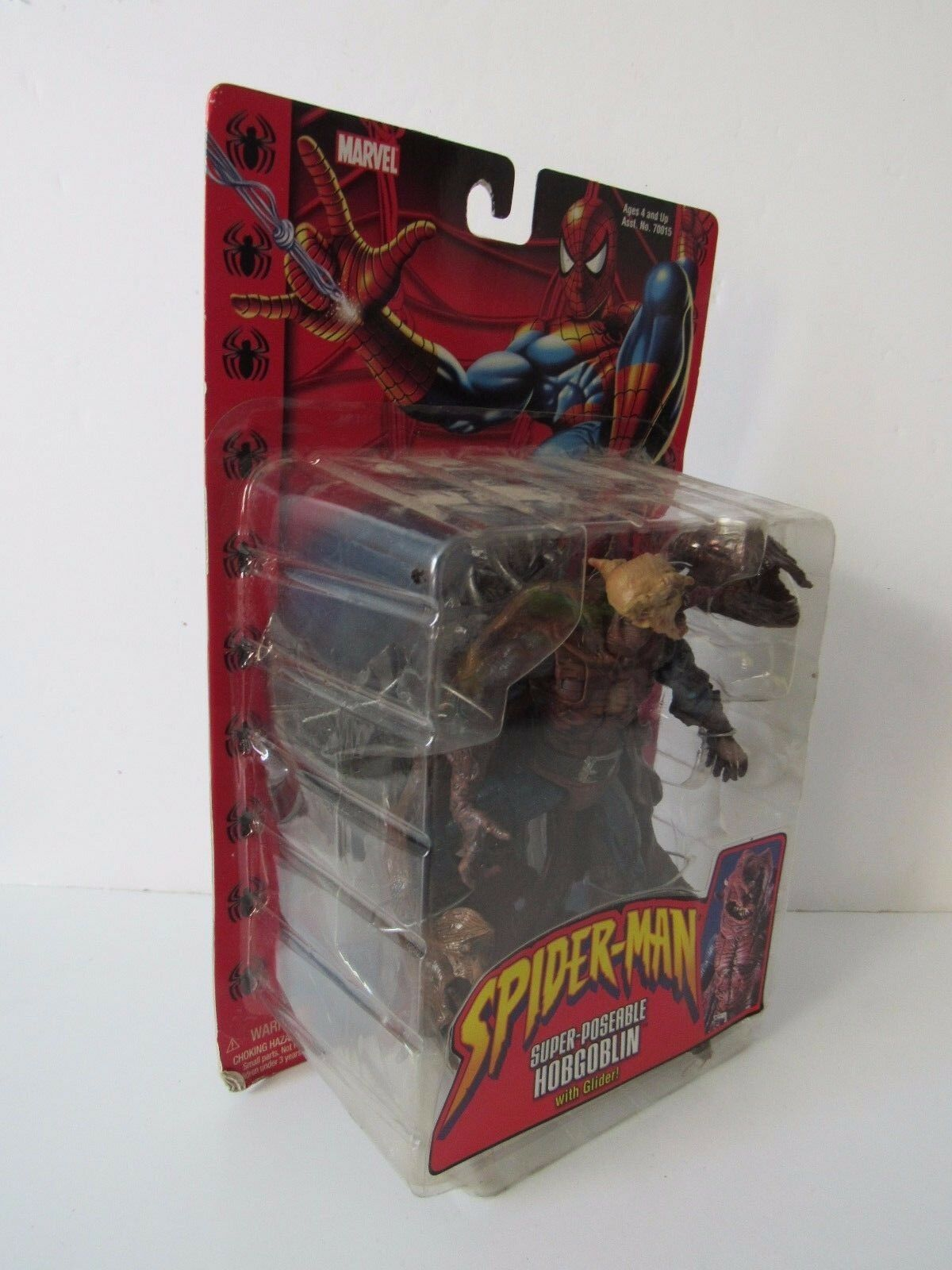 Marvel Legends Spider Man Super Super Super Poseable Hobgoblin with Glider Action Figure NIP 7321aa