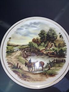 Bone China Collectors Plate by J C Van Hunnik - <span itemprop=availableAtOrFrom>exeter, Devon, United Kingdom</span> - Bone China Collectors Plate by J C Van Hunnik - exeter, Devon, United Kingdom