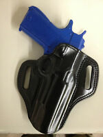 Galco Combat Master Holster For Cz75b, 9mm Right Hand Black Cm222b