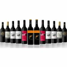 Pure Class Red Wine Mix Featuring Yellow Tail Merlot (12 Bottles)