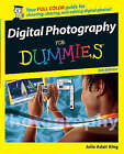 Digital Photography For Dummies by Julie Adair King (Paperback, 2005)
