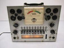 Vtg Eico Usa Model 625 Vacuum Tube Tester Test Equipment As Is For Repair