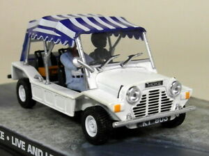 Eon-1-43-Scale-James-Bond-007-Mini-Moke-Live-amp-Let-Die-Diecast-Model-Car