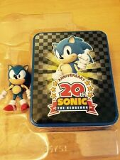 Sonic the Hedgehog: 20th Anniversary Sonic Collector's Tin Set Action Figure