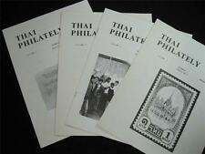 THAI PHILATELY JOURNAL VOLUME 3 1980  No's 1-4