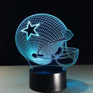 Dallas-Cowboys-Collectible-NFL-Decor-Night-Light-Touch-Lamp-Gift-Men-Kids-Women