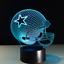 Dallas-Cowboys-Collectible-NFL-Decor-Night-Light-Touch-Lamp-Gift-Men-Kids-Women thumbnail 1