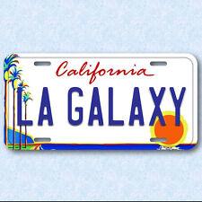 Los Angeles LA Galaxy Soccer football Team Aluminum Vanity License Plate