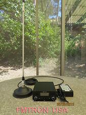 15W FM Stereo Broadcast Transmitter CZE-15A Mobil + Power + Magnetic Suck Antenn