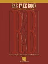 R&B Fake Book 2nd Edition Sheet Music 375 Rhythm & Blues Songs Real Bo 000240107