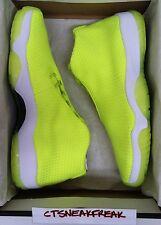Nike Air Jordan Future SZ 12 Volt White Tennis Ball Yellow Neon Retro 656503-720