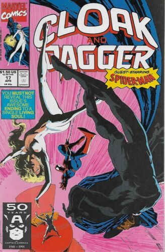 Vol.2 Cloak and Dagger 1991 Spider-Man Terry Kavanagh /& Dave Ross No.17