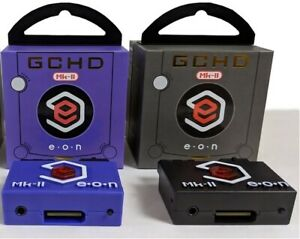 NEW-GCHD-MARK-2-HDMI-amp-Componet-Adapter-Nintendo-Gamecube-PLUG-amp-PLAY