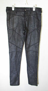 Free Skinny Taglia Womens 25 Pants Nuovo Legging Black People f4f1qF7