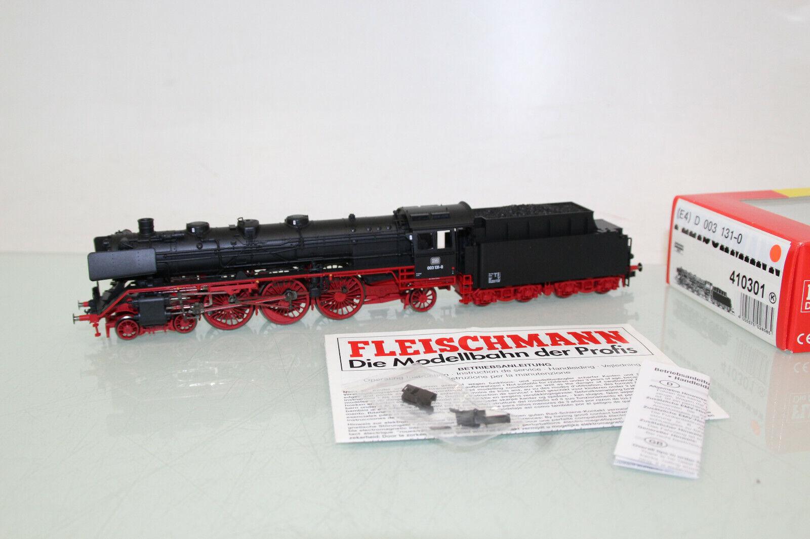 Fleischmann H0 410301 Steam Locomotive BR 003 131-0 DB m. DSS Mint in Original Box (CL2023)