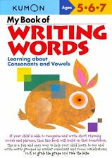 Kumon Workbooks: My Book of Writing Words : Learning about Consonants and Vowels (2005, Paperback)