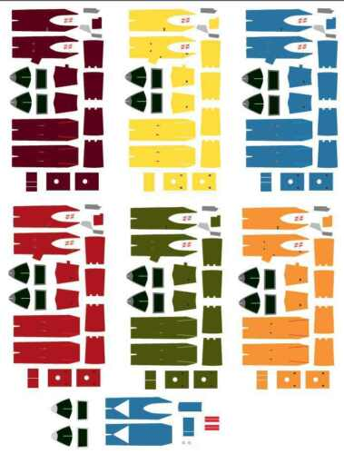 1//144 waterslide decals bandai star wars A wing vehicle model 010 176237 a-wing