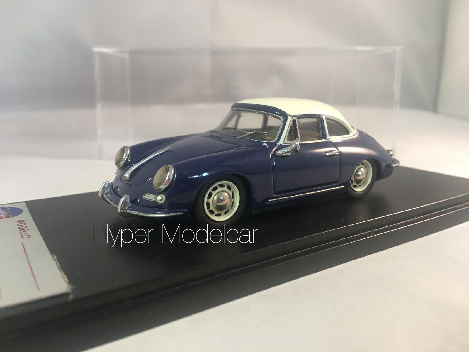 AMR 1/43 PORSCHE 356 C HARD-TOP 1964 BLUE ART. 415